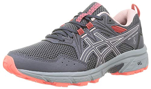 ASICS Gel-Venture 8, Zapatillas de Running Mujer, Carrier Grey Ginger Peach, 40 EU