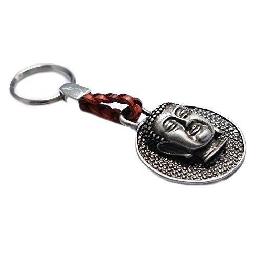 Schlüsselanhänger Buddha – Glücksbringer Schutz-Symbol Yoga Esoterik Spiritualität Astrologie Meditation Energie