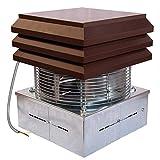Gemi Elettronica Extractor de Humo Extractores de Humo para chimeneas para Barbacoa Aspirador de Humos para Chimenea Extractor de Chimenea Modelo Base
