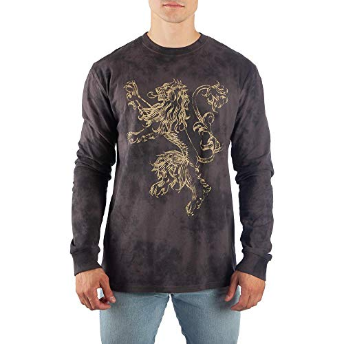 Game of Thrones Long Sleeve Shirt Lannister TShirt Game of Thrones Tshirt-Large