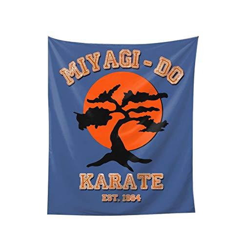 Cheryle Sigafoos Miyagi Do Karate Kid Bonsai Tree Wall Hanging Tapestry Decorations Bedroom Living Room Dorm 60x51 Inch