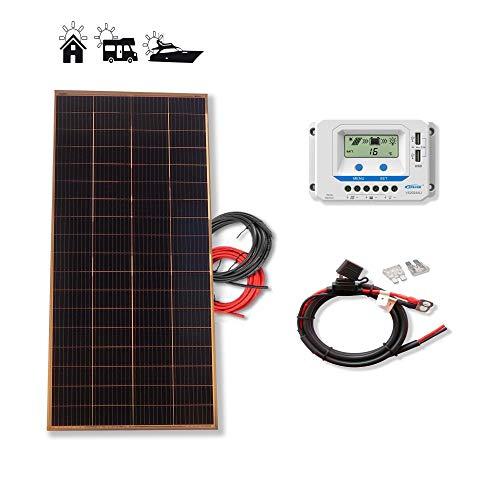 Kit 200W PRO 12V panel solar placa monocristalina...
