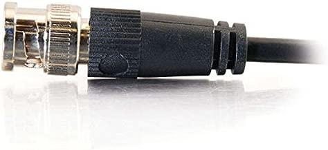 C2G 03188 RG58 BNC Thinnet Coax Cable, Black (25 Feet, 7.62 Meters)