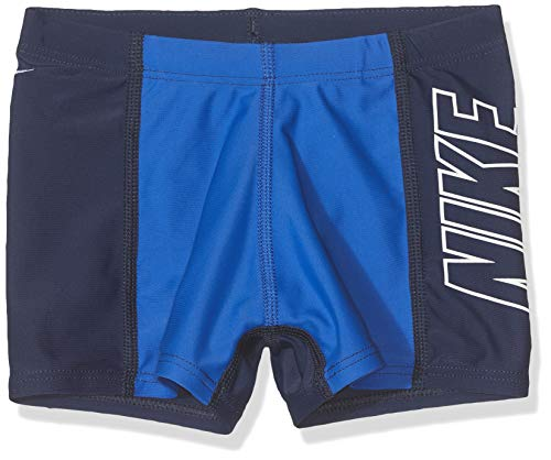 Nike Jungen Pbf ness8104 Badeanzug, Blue (Midnight NA), Größe S