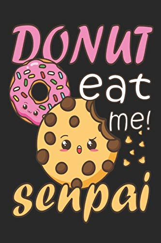 Kawaii Donut Keks Cookie Anime Otaku Senpai: Dot Grid Journal or Notebook (6x9 inches) with 120 Pages