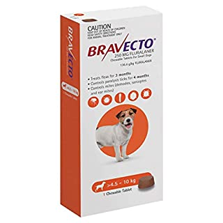 BRAVECTO For Small Dogs 4.5 to 10 Kg Orange Pack 1 Chew (B077XNGC83) | Amazon price tracker / tracking, Amazon price history charts, Amazon price watches, Amazon price drop alerts