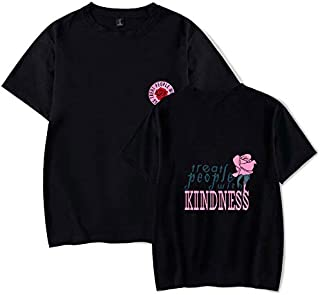 Women Summer Short Sleeve Harry Styles Treat People With Kindness Fine Line Harajuku Men Tshirt tshirts Tops Tees Female Oversized T Shirt girl