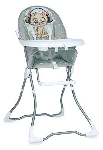 Lorelli 10100321805 Chaise Haute pour Bébé Marcel Gris
