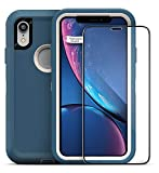 Magglass Tempered Glass Screen Protector for Otterbox Defender Series - iPhone XR 6.1' (Case is NOT Included)