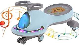 COOLBABY Twist Car Swing Car Ride-Ons Children's Yo-Yo Suitable for Kids Universal Wheel Silent baby Twister Scooter Swing...