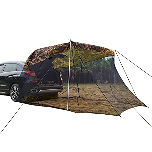 BSTCAR SUV Car Tent for Camping with Mosquito Net, Sunshade Rainproof Tent, Car Bed Camp Tents for...