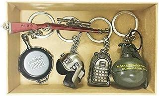 سلسلة مفاتيح لعبة من 5 قطع من بوجي، لعبة على شكل ملعب مجهول ثلاثية الابعاد، سلسلة مفاتيح للرجال والنساء