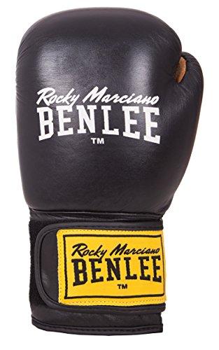 Benlee Rocky Marciano Evans Guantes de Boxeo, Negro, 14 oz
