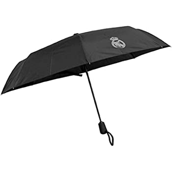 REAL MADRID Paraguas caballero plegable: Amazon.es: Hogar