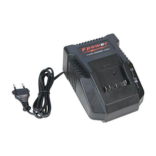 Trade-Shop acculader voor 14,4 V - 18 V Li-Ion accu's laadstation snellader voor Bosch GSR 18 V-EC FC2 Professional GSR 18 V-EC Professional