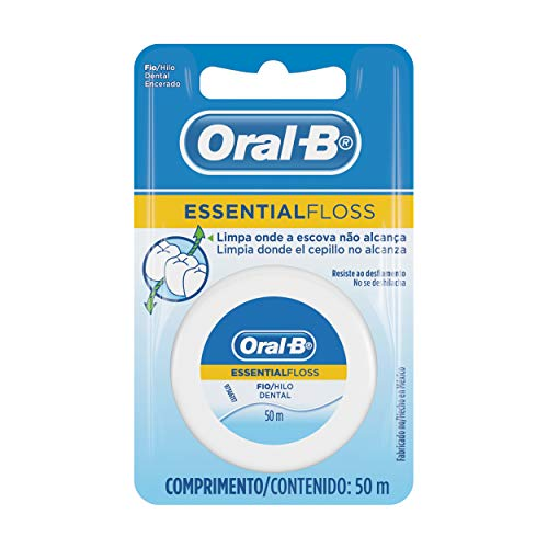 Fio Dental Oral-B Essential Floss 50m