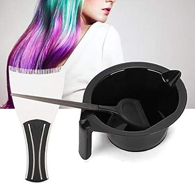 3pcs Haarfärbebrett Färbecreme Saloneinrichtung