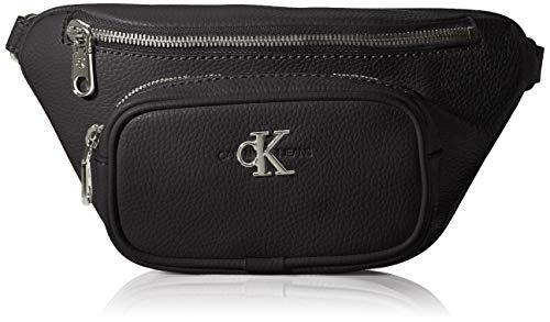 CK JEANS Damen Convertible Waist Bag ZUBEHÖR, Black, One Size