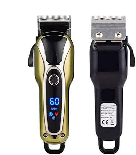 Heren oplaadbare accu tondeuse Razor Electric Professional scheerapparaat Baardtrimmer Grooming Scheren Machine Zelf haar knippen Haircut Trimmer Cutter