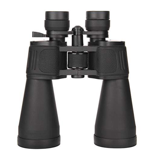 WAWRR Prismáticos, 20-180x80 HD Zoom al Aire Libre Lente Larga de Gran diámetro Espejo de Metal telescopeLarge Ocular de Alta Potencia Impermeable