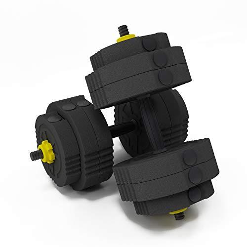 SogesPower, set di manubri regolabili per uomini e donne, set di manubri da 25 kg anti rotolamento, set di manubri per sollevamento pesi, set di bilancieri per casa e palestra