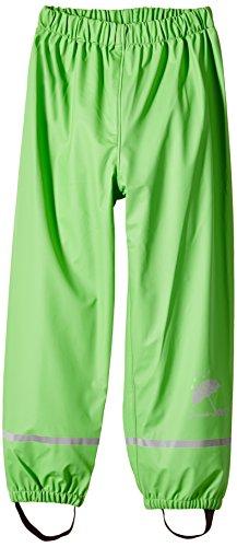 Sterntaler Pantaloni Impermeabili Sfoderati Pantalon De Pluie, Vert (Grün 254), 128 Garçon
