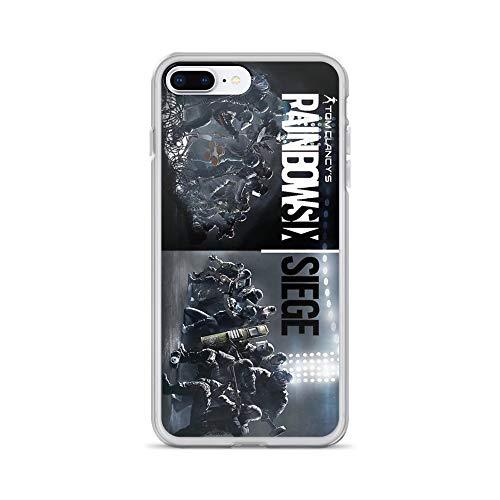 iPhone 7 Plus/8 Plus Pure Clear Case Cases Cover Rainbow six Siege