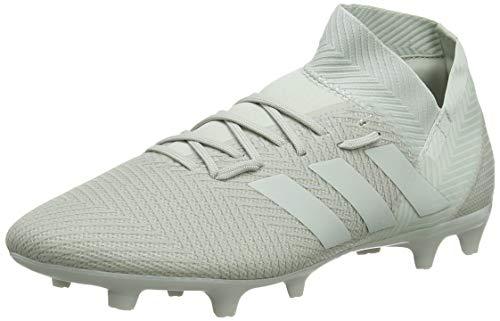 adidas Nemeziz 18.3 FG, Zapatillas de Fútbol para Hombre, Gris (Ash Silver F18/Ash Silver F18/White Tint S18), 44 EU