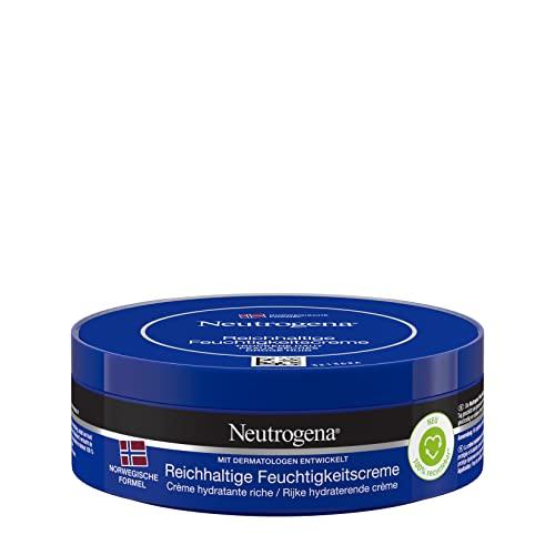 Neutrogena Norwegische Formel Feuchtigkeitscreme, reichhaltig, mit Vitamin E, für trockene Haut,...