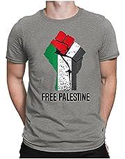 XUEbing Free Palestina Vlaggenstandaard voor Palestina - Gratis Gaza Arabisch T-shirt heren zomer casual 3D digitaal bedrukt korte mouw