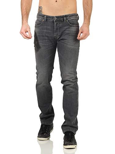 Diesel Mens Safado-X L.32 Jeans, 02 Black Denim, 32