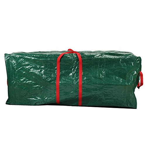 Heavy Duty Waterproof Holiday Tree Storage Bag Wreath Christmas Tree Decoration Accessories Storage Bag Tote Case to fit Artificial Trees Up to 59 Inch HFM09-C