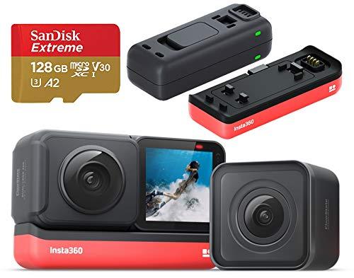 Insta360 ONE R ツイン版 360度+4K 撮影セット(ONE R コア+360度モジュール+4K広角モジュール)、追加...