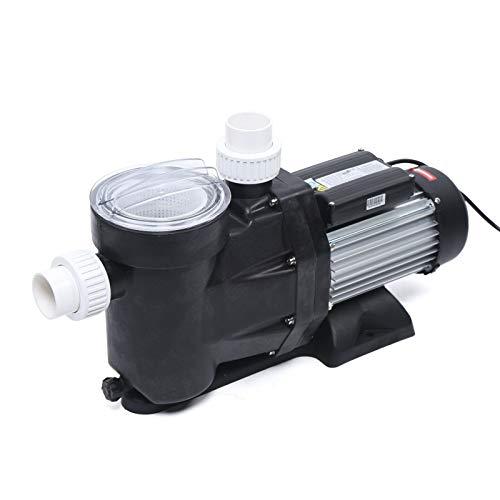 Bomba de piscina 33600 l/h, bomba de filtro, bomba de circulación para piscina