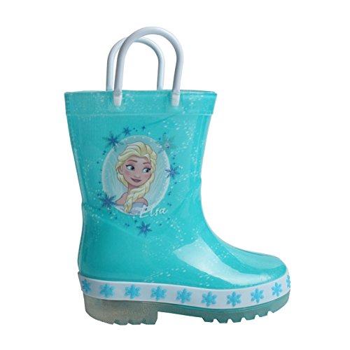 Character Kinder Gummistiefel Leuchtende Regenstiefel LED Disney Frozen C10 (28)