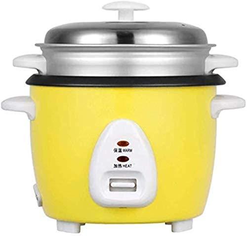 Cocina de arroz, Liner antiadherente Preservación de calor Aluminio Aley Steamer Anti-Dry Burning El grano está lleno y sabe más fragante (Clase Energy A) (Color: Amarillo)