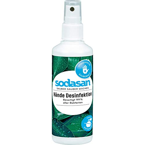 Sodasan Bio Hände Desinfektion Spray (2 x 100 ml)