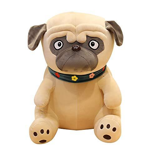 HTRN 1pcs 50cm Plush Dog Toy, Simulation Dog Doll Soft Stuffed Animal Plush Pillow Children's Toy Soft Doll