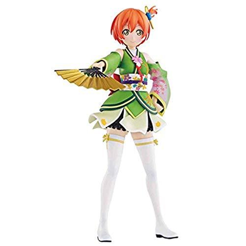 PLL Love Live: Rin Hoshizora (Kimono) Action-Figur Modell-Geschenk-Spielzeug Dekorationen Statue Puppe Ornamente