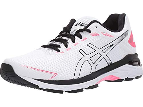 ASICS Women's GT-2000 7 Twist Shoes, 9.5M, White/White
