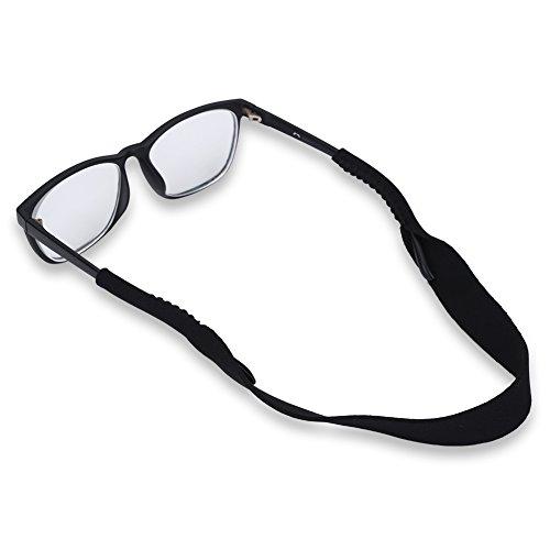 Tbest Brillenband Sport Lesebrille Glasses Strap Neopren Einstellbarer Elastische Sportbrillenband Brillenband Schwimmfähig Brillenkordel Für Lesebrillen Für Kinder, Männer, Frauen - Schwarz