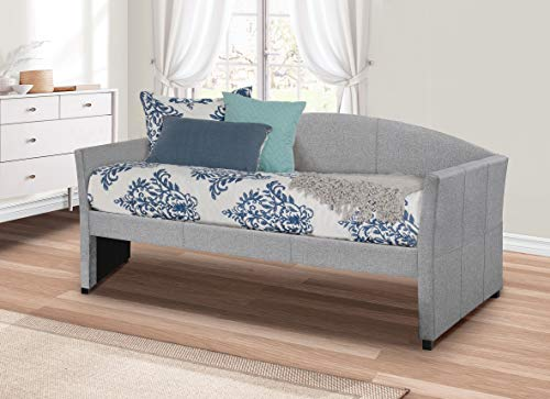 Hillsdale Furniture Hillsdale Westchester Daybed, Twin, Smoke Gray Fabric