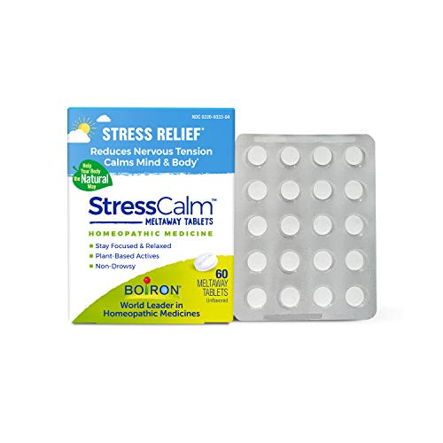 Boiron Stresscalm Homeopathic Medicine for Stress Relief, Non-Drowsy,...