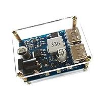 Sharplace 5VのDC-DCコンバータの調整ステップダウンバック電源モジュール24V / 12V