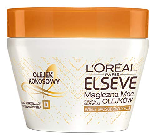 L\'Oréal Elvital Öl Magique Coco Pflegende Haarmaske 300ml mit Kokos-Öl