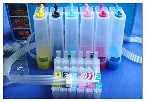 sheng yuan no OEM CISS sistema de tinta T0791-T0796 ajuste para impresoras EPS 1400 1430 1500W P50 PX650 PX660 piezas de impresora