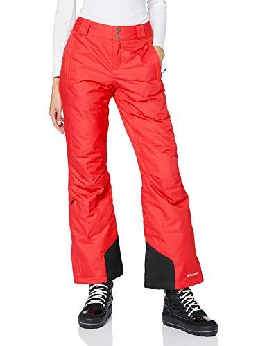 Columbia Femme Pantalon de Ski, BUGABOO OH, Nylon, Rouge (Red Camellia), Taille : M