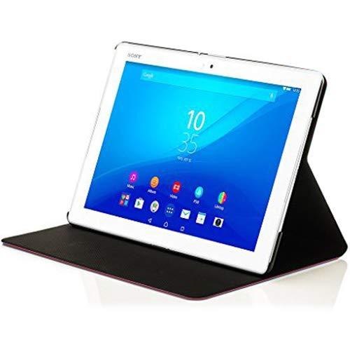 Forefront Hülles Hülle für Sony Xperia Z4 Tablet 10.1 SGP771 Schutzülle Hülle Cover und Ständer - Dünn Leicht, R&um-Geräteschutz und Auto Schlaf Wach Funktion + Stift - Rot