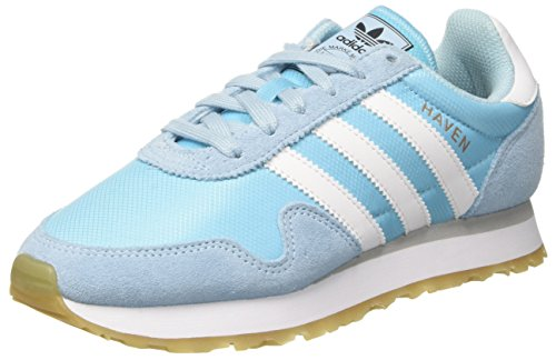 adidas Haven W, Zapatillas de Deporte para Mujer, Azul (Azuhie/Ftwbla/Gridos), 40 2/3 EU