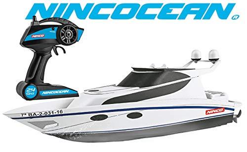 Ninco - Nincocean Pitiusa. Yacht Telecomandato. Colore Bianco. +6 anni, 34, NH99026